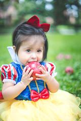 "Eva ""Snow White"" 2014 | 022 (@iseenit_RubenS | R.Serrano Photography) Tags: baby 6 snow halloween apple costume outfit character disney fairy snowwhite ideas tale 2014 disneys babyphotography"