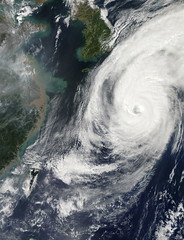 NASA Spots Typhoon Phanfone Affecting Japan
