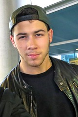 (Jonasbesties) Tags: hat candid nick fans jonas 2014