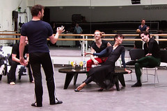 Watch: Liam Scarlett's The Age of Anxiety in rehearsal