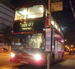 Stagecoach London 17838 on route 177 Woolwich 08/10/14. (Ledlon89) Tags: bus london buses transport londonbus tfl