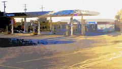 Kmart Express Gas Station (Nicholas Eckhart) Tags: ohio usa retail brooklyn america us gasstation oh closing stores kmart 2014 supercenter superkmart kmartexpress