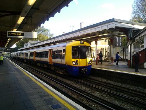 Class 378 at Harrow & Wealdstone