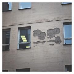 (Goran Patlejch) Tags: brown window wall facade square lights neon prague prag praha praga plaster damage cracks patlejch gntx goenetix patlejh