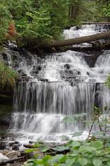 Wagner Falls (jameskirchner15) Tags: river outdoors michigan scenic waterfalls upperpeninsula algercounty algerfalls michiganoutdoors scenicmichigan