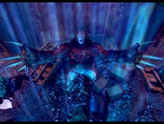 Beast needs a hug (.Odeya.) Tags: monster dark vampire sl secondlife horror embrace claws