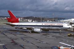 N159US.PIK1988copy (MarkP51) Tags: aircraft aviation douglas airliners prestwick pik dc10 northwestorient egpk n159us