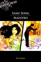 Same Song / Maestro (Vernon Barford School Library) Tags: new school woman reading book high women poetry graphic library libraries pat reads books read paperback mexican cover american lee poet junior americans jenn covers hispanic bookcover middle vernon biography recent bookcovers nonfiction paperbacks mora mexicanamerican manley barford hispanicamericans biographical softcover hispanicamerican mexicanamericans biographic graphicpoetry vernonbarford softcovers graphicnonfiction 9781554487219