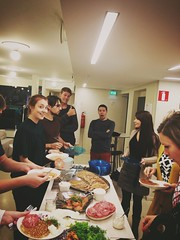 Idean Helsinki started their week with the monthly Theme Lunch. This time me made Blinis.