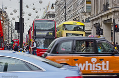 _MG_3369_edit (plw1053) Tags: street city red people orange building bus london car yellow colours traffic taxi transport busy pedestrians vehicle theme weekly oxfordstreet 50mmf14 londonstreets flickrbar canon600d flickbar plw1053 paullgwells
