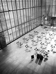 Please, take a seat... (geheet - iPhone only -) Tags: blackandwhite bw caf museum blackwhite seat leipzig sachsen blacknwhite bnw museumderbildendenknste museumscafe bwlovers bwstyles
