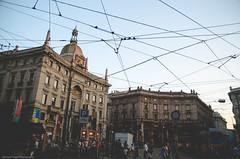 Milano | Skylines (Jurriaan Vogel) Tags: city sky italy milan lines skyline photography nikon europa europe italia milano ngc skylines tram milaan national electricity 1750 mm piazza tamron geographic vogel 2014 jurriaan cordusio d7000