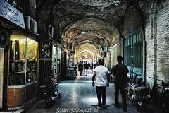 Bazaar (Sina1392) Tags: old people canon square iran bazaar isfahan jahan naghshee