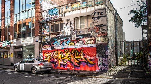 Windmill Lane [U2 Wall] In Dublin Docklands Ref-2224