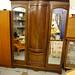 Large Edwardian wardrobe