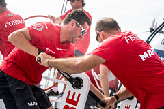 MAPFRE_141002MMuina_9490.jpg (Infosailing) Tags: espaa spain alicante esp onboard equipos abordo volvooceanrace20142015 anthonymarchandfra trimmercaa trimmerhelmsman mapfreinthevolvooceanrace crewequipo puertosalida genricasagua sailingcrewtripulacin