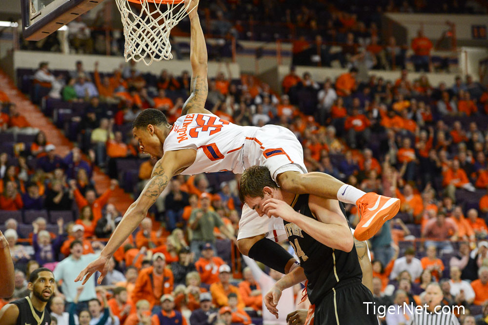 Clemson Photos: 2013, Basketball, kjmcdaniels, Wake  Forest