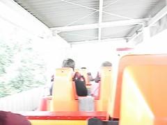Ride on a North Korean Roller Coaster (Ray Cunningham) Tags: park amusement north korea roller coaster dprk coreadelnorte mangyongdae