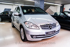 Mercedes-Benz Clase A 180 CDI Elegance Automatico - 109 c.v - Plata Polar Metalizado