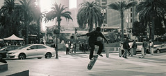 1235552_1235552-R1-E003_(c) (vader157) Tags: bw perspective streetphotography skaters ilfordfilms