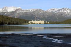 Chateau, Mountains, Lake (JB by the Sea) Tags: canada rockies alberta banff rockymountains lakelouise banffnationalpark canadianrockies chateaulakelouise fairmontchateaulakelouise september2014