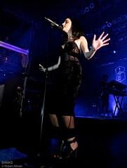 Banks in Concert NYC (undertheradarmag) Tags: usa newyork fashion livemusic event banks borderfx jillianrosebanks