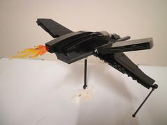 Batwing (Callum [Morpion]) Tags: city lego creation batman asylum origins morpion moc arkham mocpages
