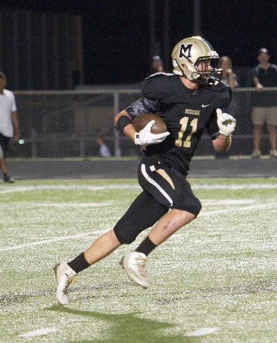 """Kick return against Grandview. 9.26.2014. Sophomore year. • <a style=""""font-size:0.8em;"""" href=""""http://www.flickr.com/photos/38444578@N04/15420791425/"""" target=""""_blank"""">View on Flickr</a>"""
