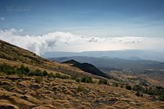 Nuvole e mare all'orizzonte (Andrea Rapisarda) Tags: italy nature clouds landscape nikon italia nuvole mare natura cielo sicily etna sicilia golfo d800 ©allrightsreserved crateri