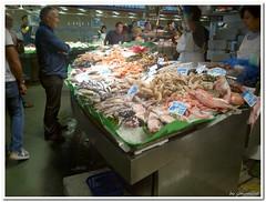 Mercat de la Boqueria (pesce) (genovafoto) Tags: mercato boqueria barcellona spagna mercat