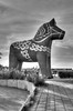 The world's largest Dala horse (Ana >>> f o t o g r a f í a s) Tags: europa europe sweden schweden sverige scandinavia dalarna hdr suecia dalahäst dalahorse avesta escandinavia dalecarlia dalecarlianhorse tonemapped caballodedalecarlia