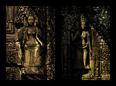 _MG_7389 (gaujourfrancoise) Tags: voyage travel asia cambodge cambodia khmer statues buddhism asie angkor hinduism bouddhisme hindouisme basreliefs khmre lowreliefs gaujour