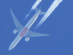 Emirates Boeing 777 Overflight (Gary Chatterton 3 million Views Thank You All) Tags: flickr emirates exploreinterestingness boeing overhead boeing777 emiratesairlines exploreinteresting overflight