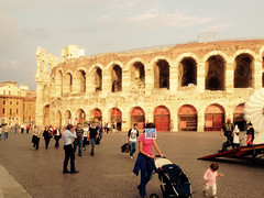 Piazza Bra Arena (philippe.romeo01) Tags: italy museum italia verona italie castelvecchio verone thebridgeofcastelvecchio jeromebythecourt cangrandedellascalaii