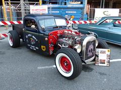 1941 Chevrolet (bballchico) Tags: 1941 chevrolet pickup hotrod chevroletpickmeup ezburris ezcyclesupply westseattlecarshow 206 washingtonstate