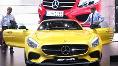 Mercedes-Benz GT AMG (puertas abiertas)