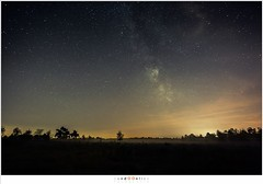 Nachtfotografie Groote Peel (nandOOnline) Tags: star nacht nederland peel limburg landschap nachtfotografie ster sterrenbeeld grootepeel lichtvervuiling sterrenhemel ospeldijk