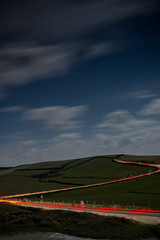 lava-2 (deanwright) Tags: sea sky car night timelapse hills valley isleofwight iow
