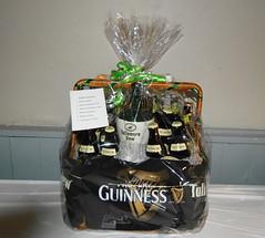 Guinness Raffle Basket