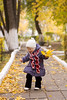 Walk in the autumn garden (D. Filushin) Tags: family autumn daughter sophia 2014