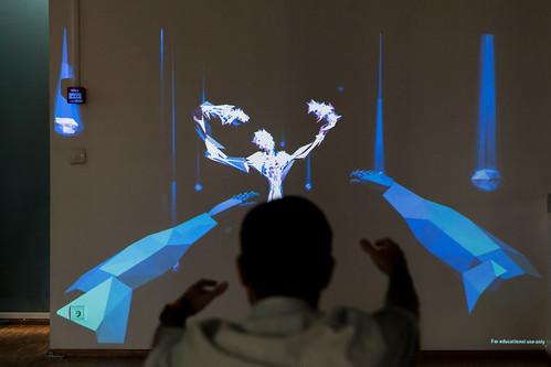 Des animations scientifiques, ou comment apprendre en s'amusant - Animation CIGALE. © P. Le Tulzo
