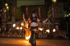 (rome_rome) Tags: fire performance osu nagoya streetperformance fireperformance daidougei firebandit