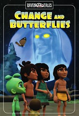 Change and Butterflies (Vernon Barford School Library) Tags: nonfiction paperback paperbacks softcover softcovers folklore nativepeoples native people peoples canada canadian canadians american americans alaska nativeamerican nativeamericans haida haidas legend legends legendary raven ravens legendarycharacter legendarycharacters character characters bird birds graphic novel novels graphicnovel graphicnovels graphicnonfiction chris johnston david bouchard 23 change butterflies butterfly fnmi bookcover bookcovers cover covers firstnationsinuitmetis firstnations aboriginal comics cartoons