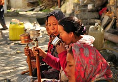 Colours of India (mala singh) Tags: india women colours village buddhism valley spiti himachalpradesh giu