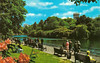 St. James's Park (Leonard Bentley) Tags: uk trees lake london benches 1972 metropolitan deckchairs stjamesspark foreignoffice canonrow cannonrow