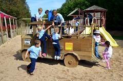 Kids At The Playground (Joe Shlabotnik) Tags: playground shane violet longisland angela erics 2014 faved melville adamm michaelm thomasf whitepostfarms afsdxvrzoomnikkor18105mmf3556ged october2014