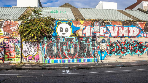 Windmill Lane [U2 Wall] In Dublin Docklands Ref-2215