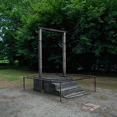 Auschwitz I concentration camp (fabianmohr) Tags: camp concentration holocaust shoa humanity nazi poland crime fascism auschwitz trial kz commander concentrationcamp gallows execution oswiecim hs nationalsocialism hoess