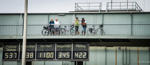 2015 - Passau Germany- Danube River - Lock Watch
