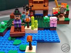 Toy Fair 2017 LEGO Minecraft 13 (IdleHandsBlog) Tags: minecraft toys videogames lego constructionsets toyfair2017